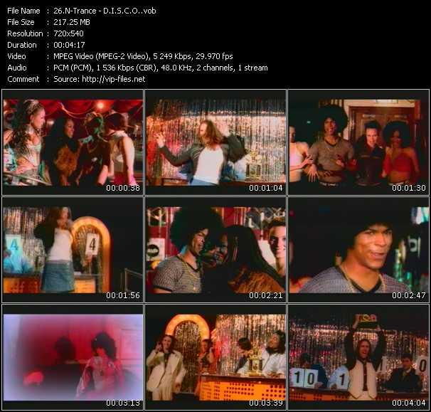 N-Trance video - D.I.S.C.O.