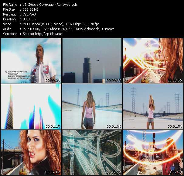 Groove Coverage HQ Videoclip «Runaway»