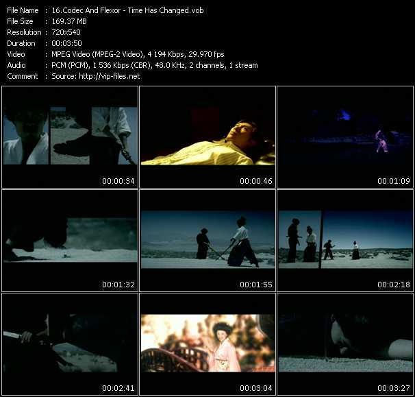 Codec And Flexor HQ Videoclip «Time Has Changed»
