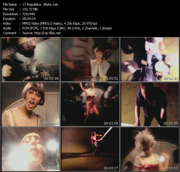 Republica HQ Videoclip «Bloke»