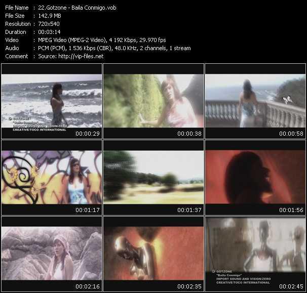Gotzone HQ Videoclip «Baila Conmigo»