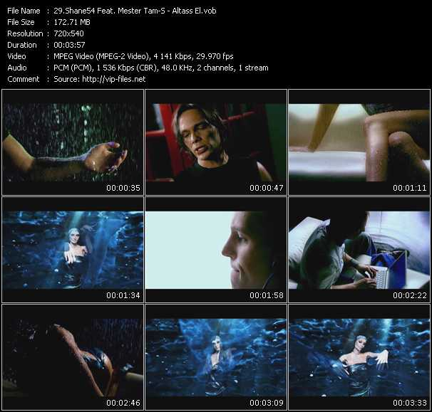 Shane54 Feat. Mester Tam-S HQ Videoclip «Altass El»