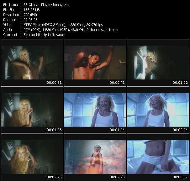 Olinda HQ Videoclip «Playboybunny»