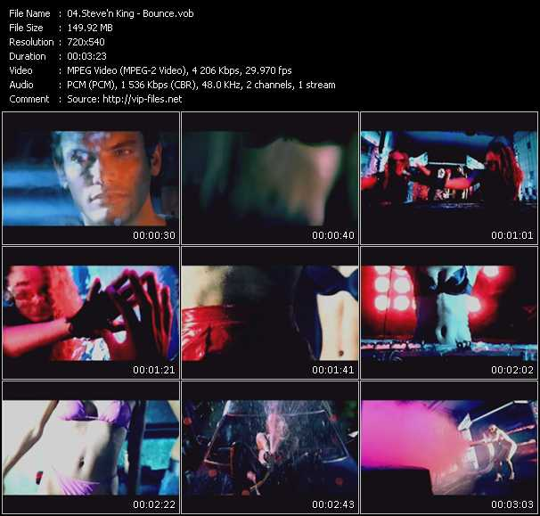 Steve'N King HQ Videoclip «Bounce»