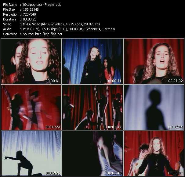 Lippy Lou HQ Videoclip «Freaks»