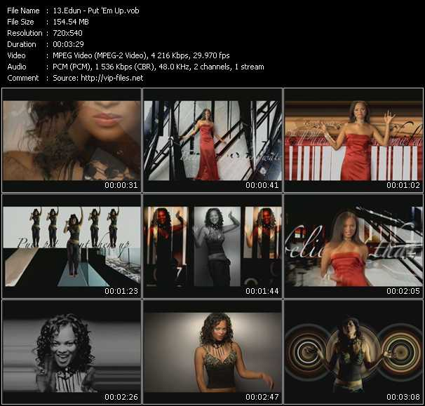 Edun HQ Videoclip «Put 'Em Up»