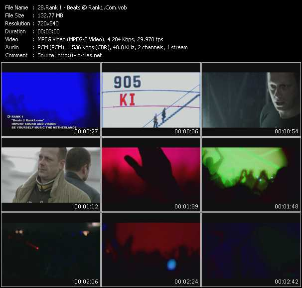 Rank 1 HQ Videoclip «Beats Rank1.Com»