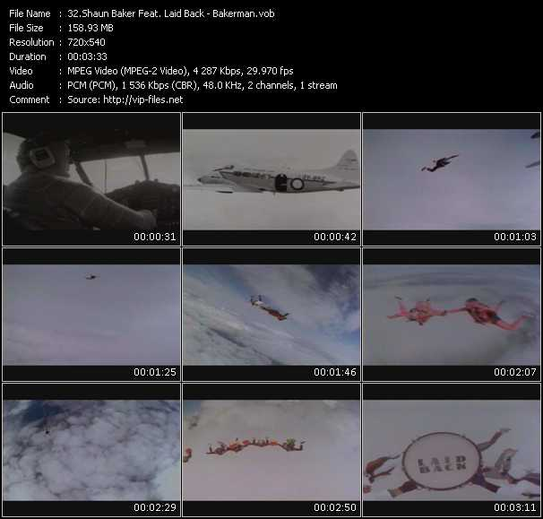 Shaun Baker Feat. Laid Back HQ Videoclip «Bakerman»