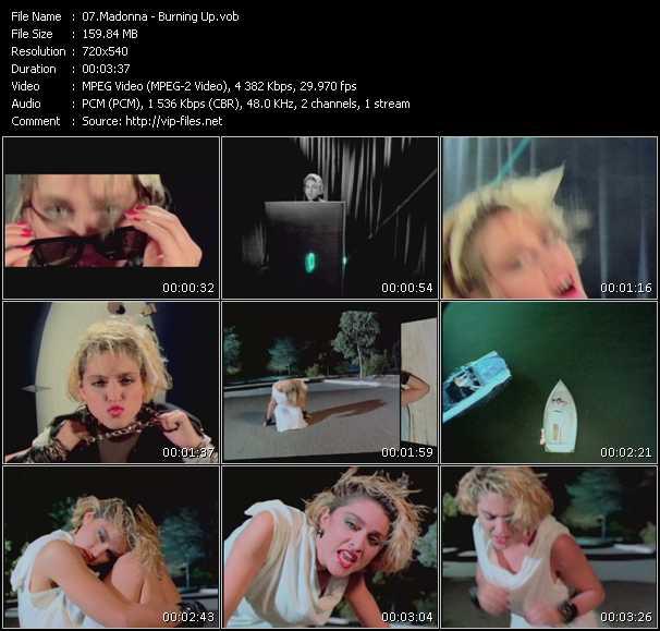 Madonna HQ Videoclip «Burning Up»