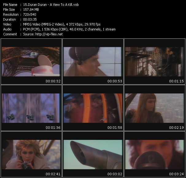 Duran Duran HQ Videoclip «A View To A Kill»