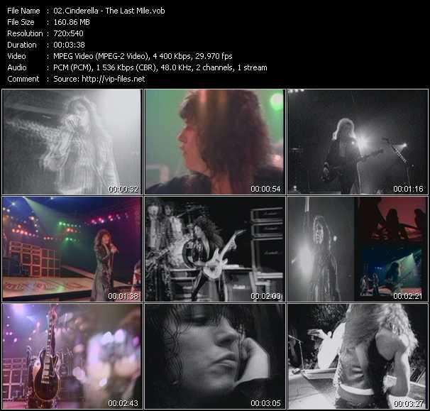 Cinderella HQ Videoclip «The Last Mile»
