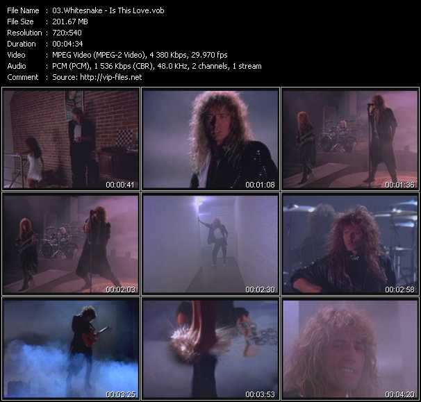 Whitesnake HQ Videoclip «Is This Love»