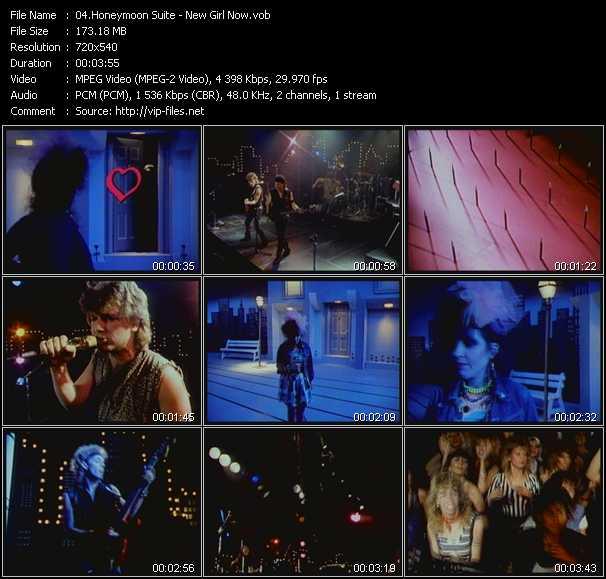 Honeymoon Suite HQ Videoclip «New Girl Now»
