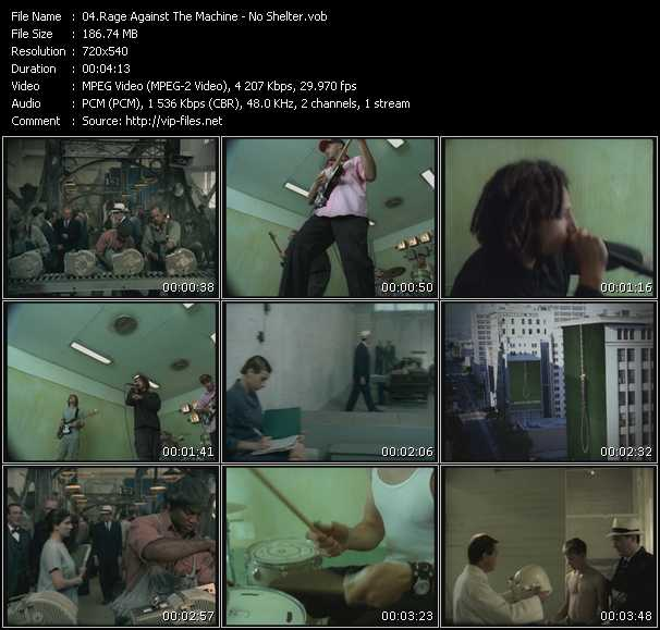 Rage Against The Machine HQ Videoclip «No Shelter»