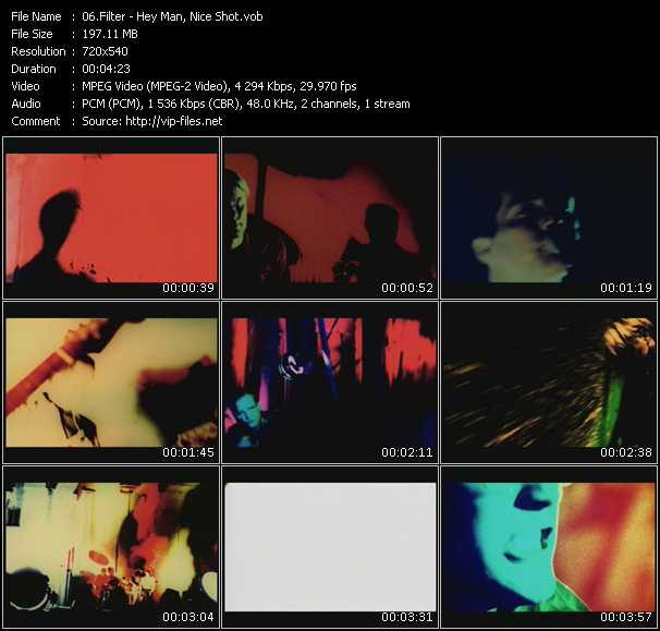 Filter HQ Videoclip «Hey Man, Nice Shot»