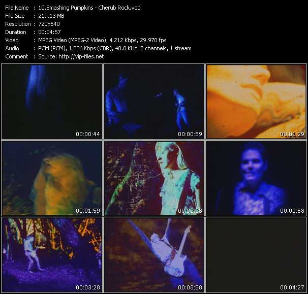 Smashing Pumpkins HQ Videoclip «Cherub Rock»