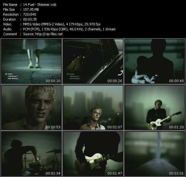 Fuel HQ Videoclip «Shimmer»
