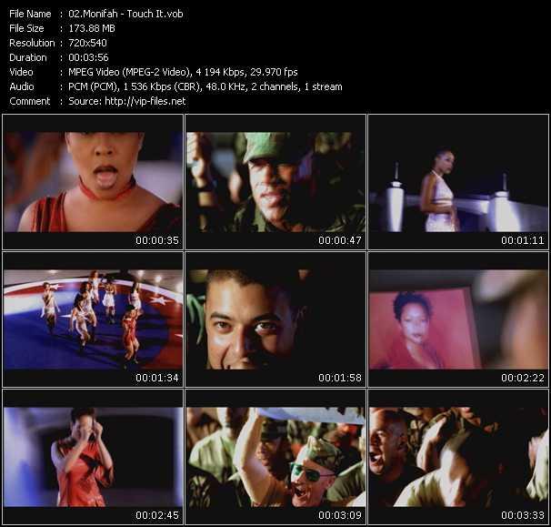 Monifah HQ Videoclip «Touch It»