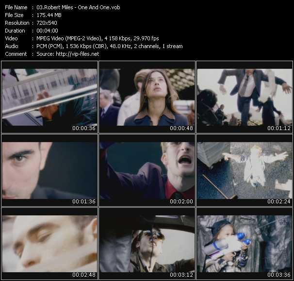 Robert Miles HQ Videoclip «One And One»