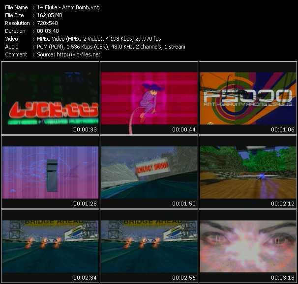 Fluke HQ Videoclip «Atom Bomb»