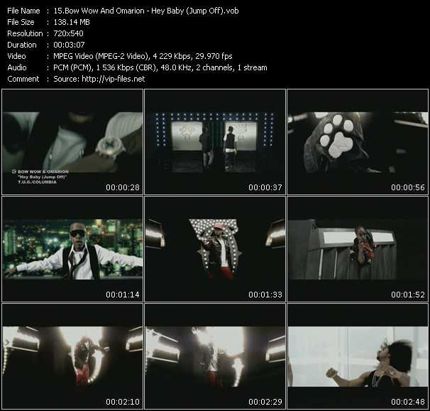 Bow Wow And Omarion HQ Videoclip «Hey Baby (Jump Off)»