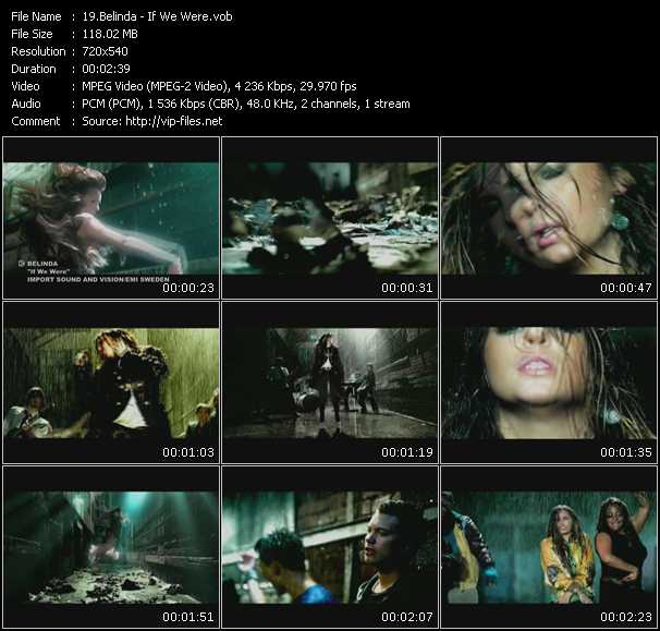 Belinda HQ Videoclip «If We Were»