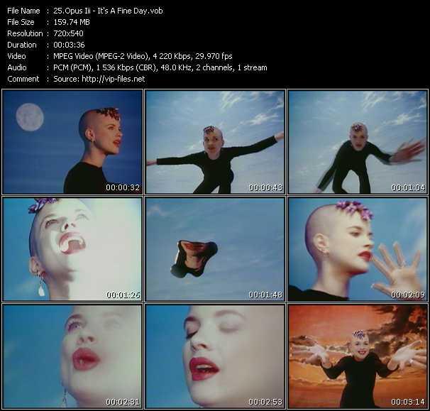 Opus III HQ Videoclip «It's A Fine Day»