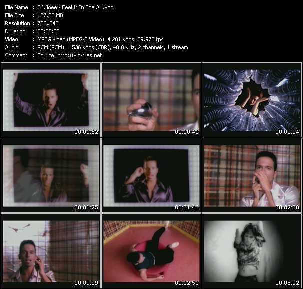 Joee HQ Videoclip «Feel It In The Air»