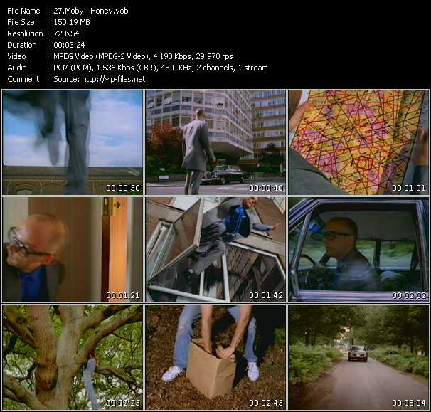 Moby HQ Videoclip «Honey»