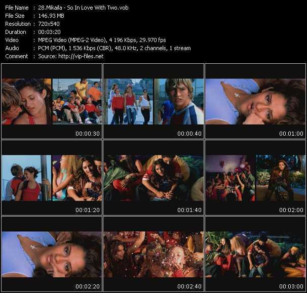 Mikaila HQ Videoclip «So In Love With Two»