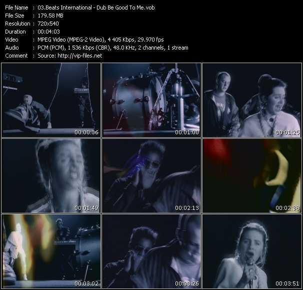 Beats International HQ Videoclip «Dub Be Good To Me»