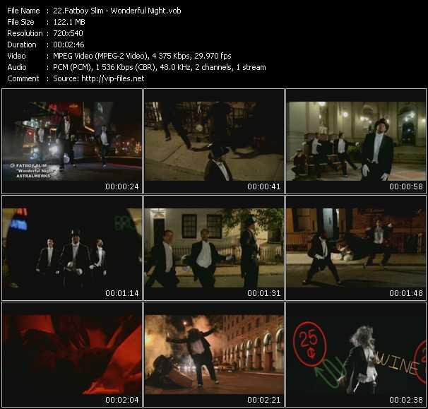 Fatboy Slim HQ Videoclip «Wonderful Night»