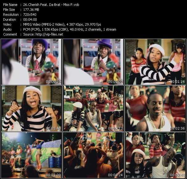 Cherish Feat. Da Brat HQ Videoclip «Miss P»