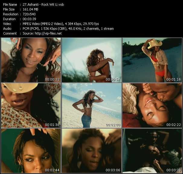 Ashanti HQ Videoclip «Rock Wit U»