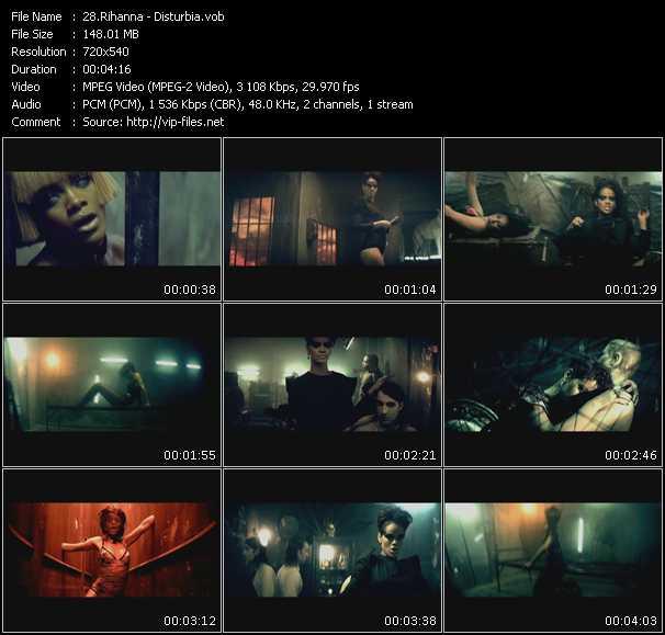 Rihanna HQ Videoclip «Disturbia»