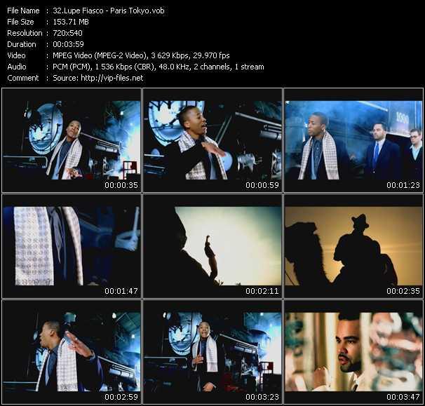 Lupe Fiasco HQ Videoclip «Paris Tokyo»