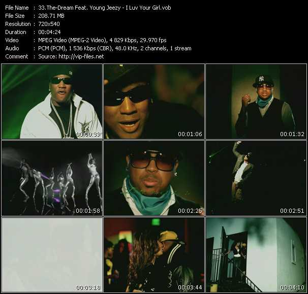 The-Dream Feat. Young Jeezy HQ Videoclip «I Luv Your Girl»