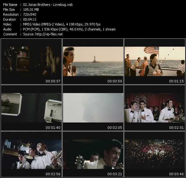Jonas Brothers HQ Videoclip «Lovebug»