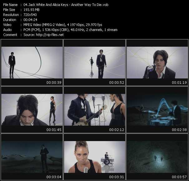Jack White And Alicia Keys HQ Videoclip «Another Way To Die»