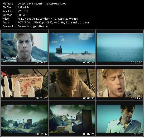 Jack's Mannequin HQ Videoclip «The Resolution»