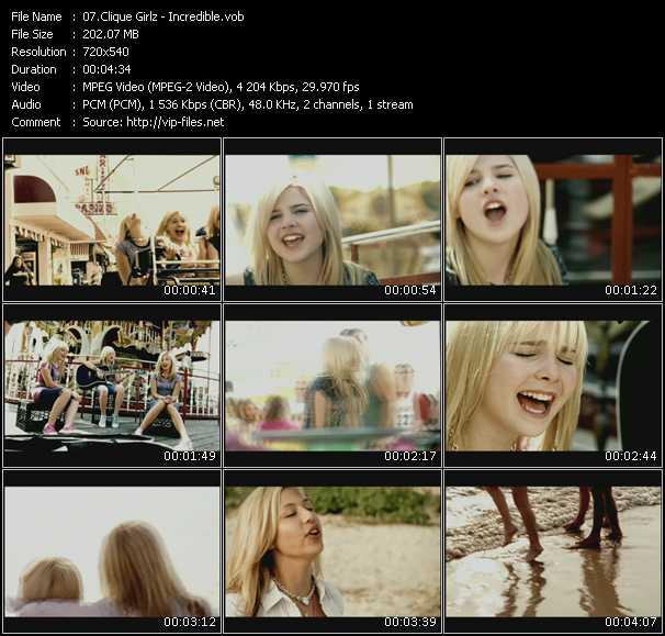 Clique Girlz HQ Videoclip «Incredible»