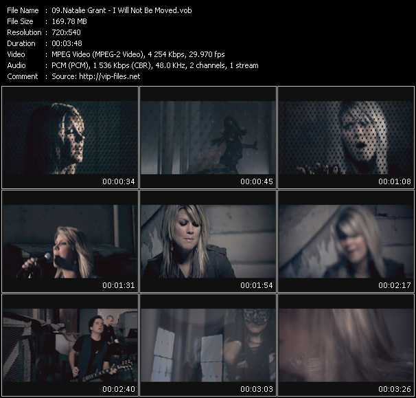 Natalie Grant HQ Videoclip «I Will Not Be Moved»