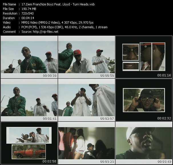 Dem Franchize Boyz Feat. Lloyd HQ Videoclip «Turn Heads»