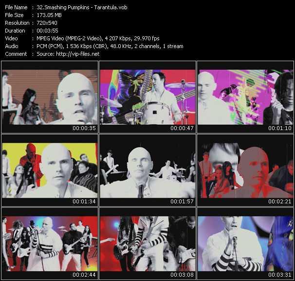 Smashing Pumpkins HQ Videoclip «Tarantula»