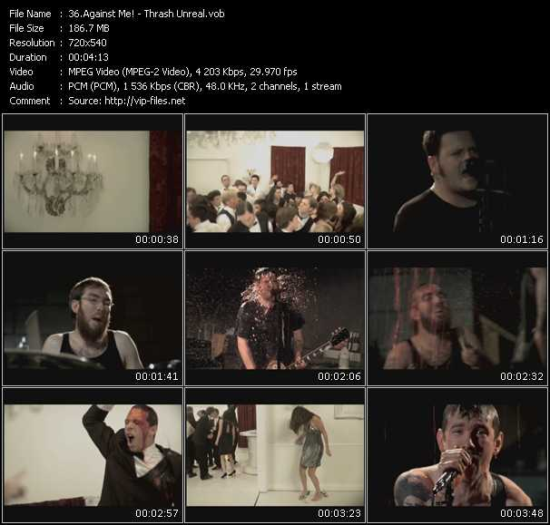 Against Me! HQ Videoclip «Thrash Unreal»