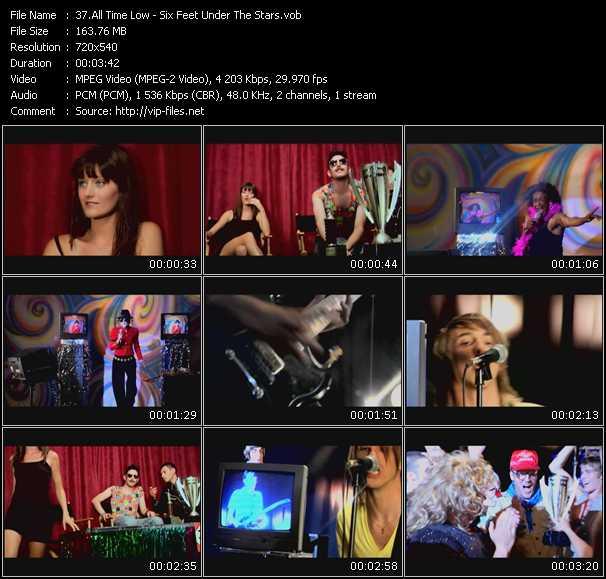 All Time Low HQ Videoclip «Six Feet Under The Stars»