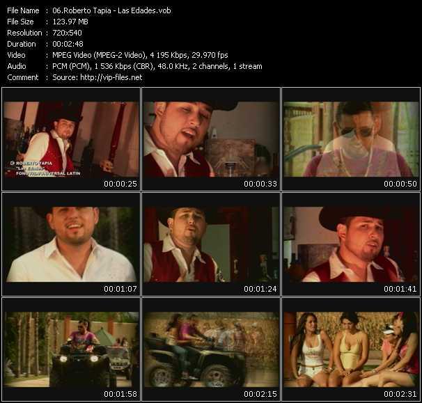 Roberto Tapia HQ Videoclip «Las Edades»