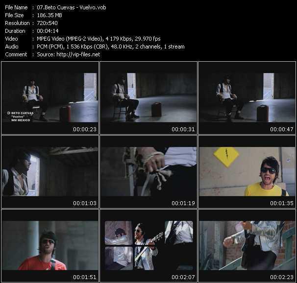 Beto Cuevas HQ Videoclip «Vuelvo»