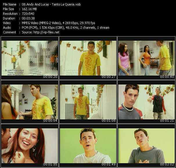 Andy And Lucas HQ Videoclip «Tanto La Queria»