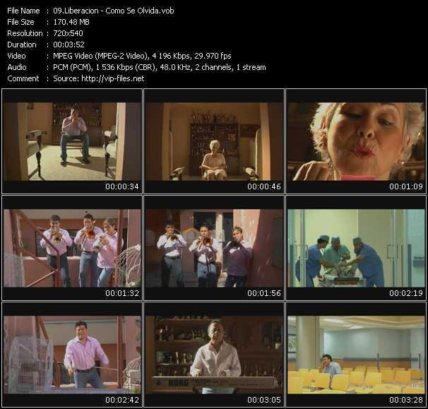 Liberacion HQ Videoclip «Como Se Olvida»